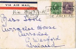 36932. Carta Aerea CALGARY (Alberta) Canada 1931 To Ireland - 1911-1935 Reign Of George V