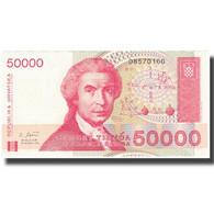 Billet, Croatie, 50,000 Dinara, Undated (1993), 1993-05-30, KM:26a, NEUF - Croatie