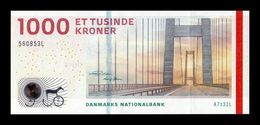 Dinamarca Denmark 1000 Kroner 2013 (2019) Pick 69c New SC UNC - Denmark