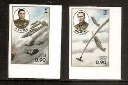 GEORGIA ABKHAZIA●1998 Heroes Of Soviet Air Forces●Tanks●Airplanes - Géorgie