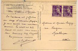"""Rare Flamme """"célébrez Le 31 Aout L'anniversaire De La Légion"""" De Toulouse (le Bloc Dateur Est Toujours Caviardé) - Postmark Collection (Covers)"""