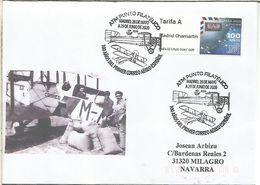 MADRID ATM PUNTO FILATELICO 100 AÑOS DEL PRIMER CORREO AEREO ESPAÑOL AIR MAIL PLANE - 2011-... Briefe U. Dokumente