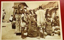 Malanville Scene Du Marche - Dahomey