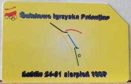 PO107 - POLONIA - POLSKA , URMET - 25 -  SWIATOWE IGRZYSKA POLONIJNE LUBLINO - GIOCHI OLIMPICI - Pologne