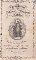Bazel Basel Waas Congregatie Onbevlekte Ontvangenis Van Maria Heiligenprentje Holy Card  Santini Image Pieuse Religieuse - Kruibeke