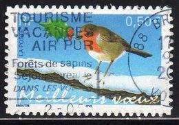 FRANCE : N° 3622 Oblitéré (Meilleurs Voeux) - PRIX FIXE - - Used Stamps