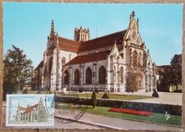 CM 1969 - YT N°1582 - EGLISE DE BROU - BOURG EN BRESSE - Maximum Cards