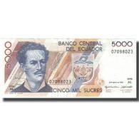 Billet, Équateur, 5000 Sucres, 1995, 1995-08-08, KM:128b, SUP - Ecuador