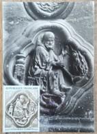CM 1969 - YT N°1586 - CATHEDRALE D'AMIENS - Maximum Cards