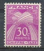 FRANCE - 1859-1955 - Nr 68 - 30c - Neuf - Postage Due