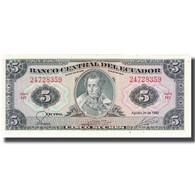 Billet, Équateur, 5 Sucres, 1982, 1982-08-20, KM:108b, NEUF - Ecuador
