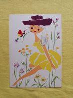 Fairy Tale Girl Art Butterfly - Fairy Tales, Popular Stories & Legends