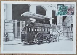 CM 1969 - YT N°1589 - JOURNEE DU TIMBRE - PARIS - Maximum Cards