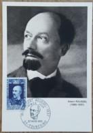 CM 1969 - YT N°1590 - ALBERT ROUSSEL - TOURCOING - Maximum Cards