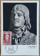 CM 1969 - YT N°1591 - GENERAL MARCEAU - CHARTRES - Maximum Cards