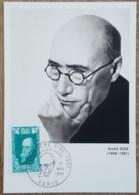 CM 1969 - YT N°1594 - ANDRE GIDE - PARIS - Maximum Cards
