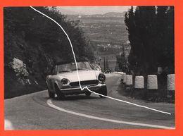 Auto Fiat 124 Sport Tappa Romano D' Ezzelino - Grappa Foto Anni '60 Cars Voitures Automobiles - Automobiles
