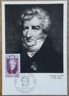CM 1969 - YT N°1595 - GEORGES CUVIER - MONTBELIARD - Maximum Cards