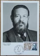 CM 1969 - YT N°1600 - ORGANISATION INTERNATIONALE DU TRAVAIL / OIT - CHAMPIGNY SUR MARNE - Maximum Cards