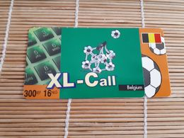 XL-Call Belgium Football Used 2 Scans  Rare - Belgique