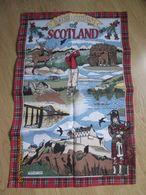 """Torchon Coton  """"memory Of Scotland"""" - Autres"""