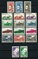 Martinica (Francesa) Nº 226/42*/** Cat.21,30€ - Martinique (1886-1947)