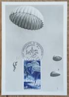 CM 1969 - YT N°1603 - LIBERATION / DEBARQUEMENT COMMANDO N°4 - OUISTREHAM - Maximum Cards