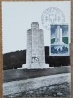 CM 1969 - YT N°1604 - LIBERATION / COMBATS DU MONT MOUCHET - SAINT FLOUR - Maximum Cards