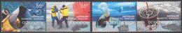 AUSTRALIE AAT 2008 4 TP Année Polaire Internationale N° 2959 à 2962 Australie Y&T Neuf ** Mnh - Territoire Antarctique Australien (AAT)