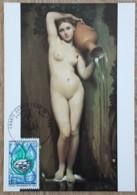 CM 1969 - YT N°1612 - CHARTE EUROPEENNE DE L'EAU - PARIS - Maximum Cards