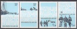 AUSTRALIE AAT 2009 4 TP Pôle Sud Magnétique 1909-2009 N° 173 à 176 Y&T Neuf ** Mnh - Territoire Antarctique Australien (AAT)
