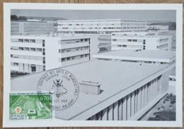 CM 1969 - YT N°1614 - ECOLE CENTRALE DES ARTS ET MANUFACTURES - CHATENAY MALABRY - Maximum Cards