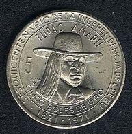 Peru, 5 Soles 1971, Tupac Amaru, Unzirkuliert - Pérou