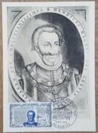 CM 1969 - YT N°1618 - HENRI IV / EDIT DE NANTES - Maximum Cards