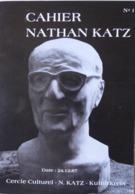 Alsace-Sundgau // Cahier Nathan Katz N°1 / 1987 - éd. Cercle Culturel N. Katz - Alsace