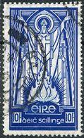 Ireland 1937 KGVI 10s  M SG 104. Sc 98 - 1922-37 Irish Free State