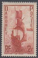 Dahomey 1941 - Definitive Stamp: Sailing Boat At Nokoué Lake - Mi 141 ** MNH [978] - Neufs