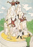 CP PUBLICITE LABORATOIRE VETERINAIRE LATHEVET GENABILINE 21X14.6   SINGES - Advertising