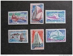 Polynésie: TB Série N° 36 Au N° 41 ,neufs XX . - Polinesia Francese