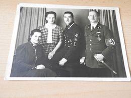 Original S/w.Foto Soldaten Mit Orgen. PK.Größ3 1942 - 1939-45