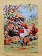 Hedgehogs Picnic - Fairy Tales, Popular Stories & Legends