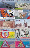 20 Télécartes ISRAEL Lot2 - Israel