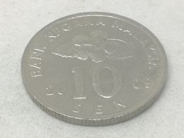 Moneda 2009. 10 Sen. Malasia. KM 51. MBC - Malaysia