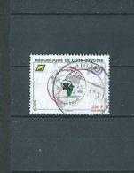 Timbre Oblitére De Cote D'ivoire 2020 - Côte D'Ivoire (1960-...)