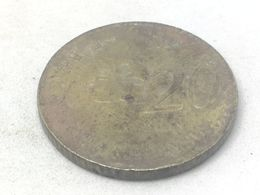 Moneda 2014. 20 Sen. Malasia. KM 203. BC - Malaysie