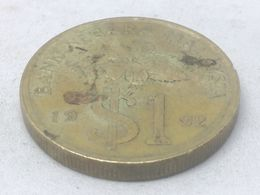 Moneda 1992. 1 Ringgit. Malasia. KM 54. MBC - Malaysia