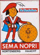 Sema Nopri De Beukelaer Biscuits Koekjes Choco Prince Haacht Kortenberg Sticker Adesivo Aufkleber Autocollant - Stickers