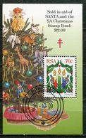 Südafrika South Africa Mi# Block 49 Gestempelt(FDC/SST)/used/CTO - Christmas - South Africa (1961-...)