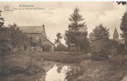 St-Pauwels - Zicht Op De Hoven Der Pastorij - Uitg. De Potter, St-Pauwels - 1938 - Sint-Gillis-Waas