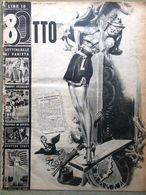 Rivista 8 Otto Del 2 Febbraio 1947 Primo Carnera Valzer Danza Poprikos E Koluma - Livres, BD, Revues